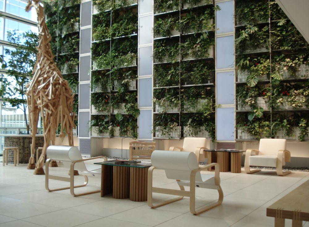 北欧インテリアブランドの家具がコーディネートされた施設