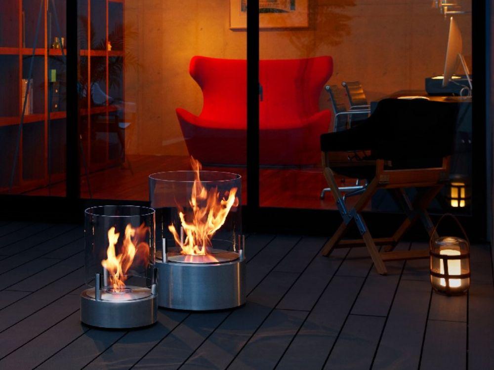 エタノール暖炉