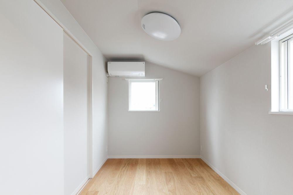 冷暖房設備のついた部屋