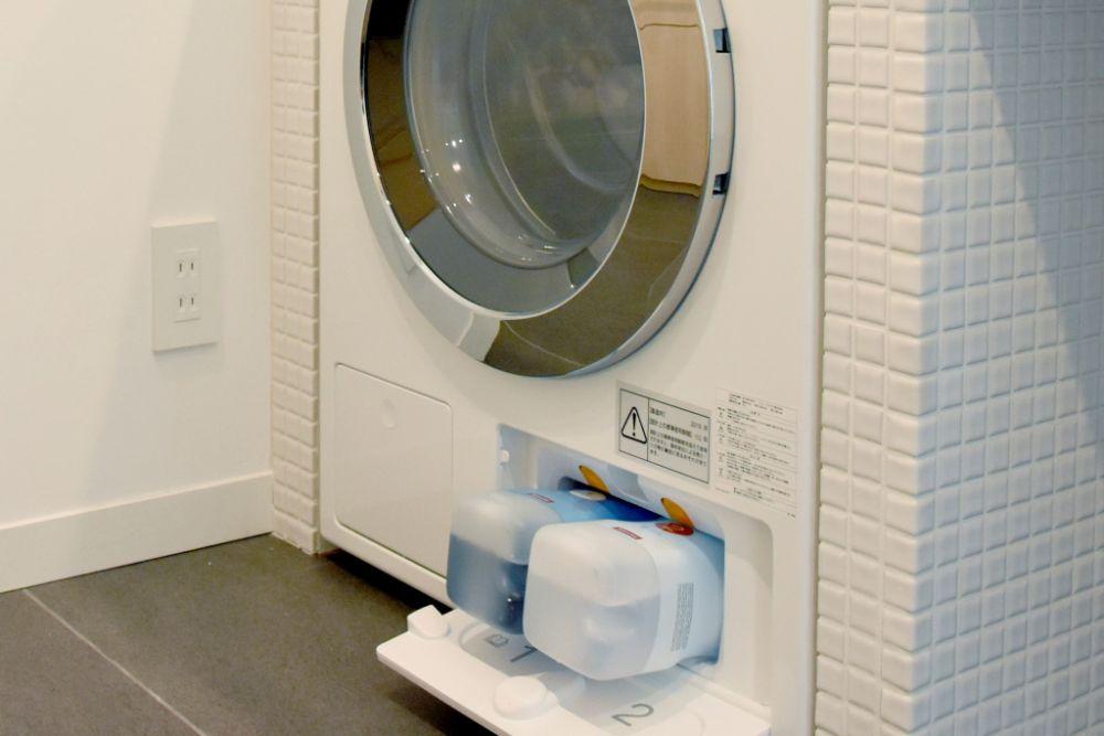 洗剤自動投入