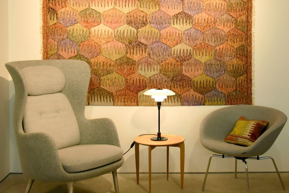 北欧家具と合わせたPHランプ