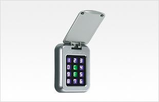 玄関の電気錠,電子キー