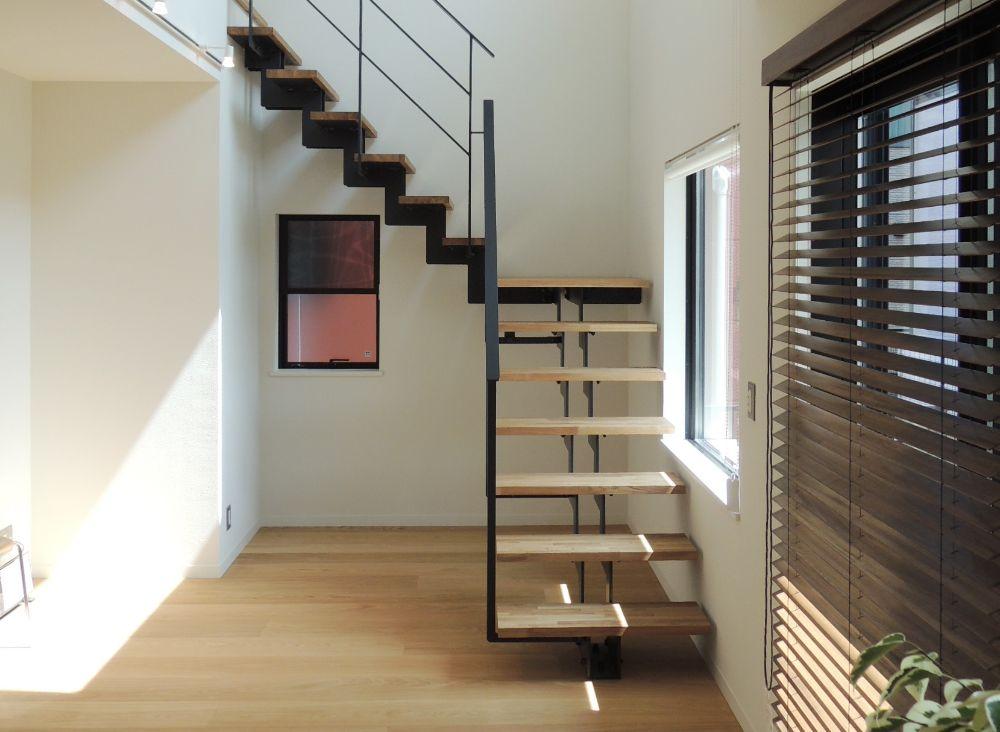 モダンな雰囲気の階段