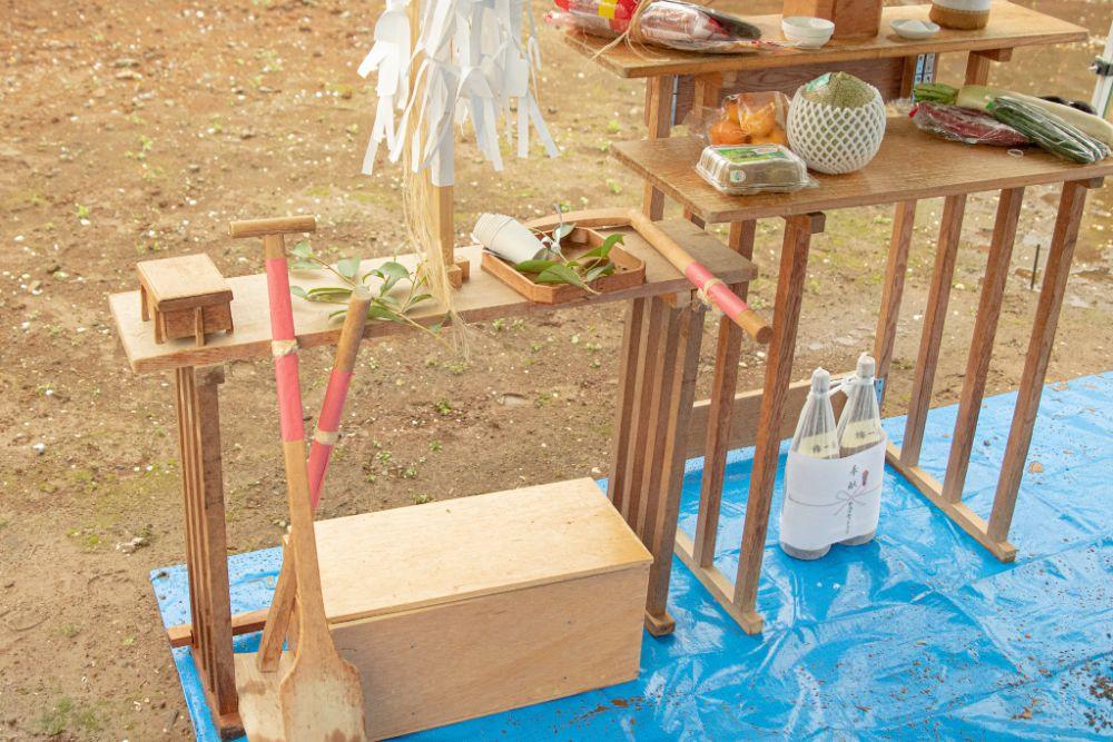 地鎮祭に必要な道具