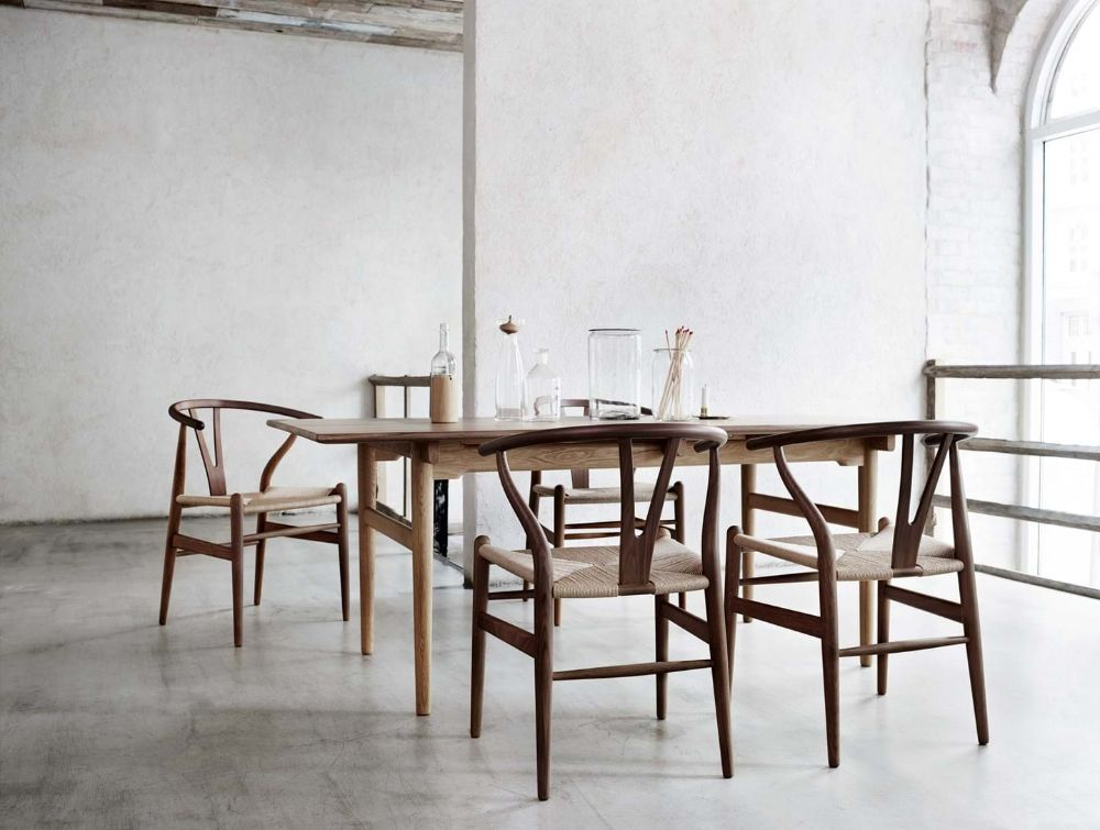 カールハンセンの家具が置かれた空間