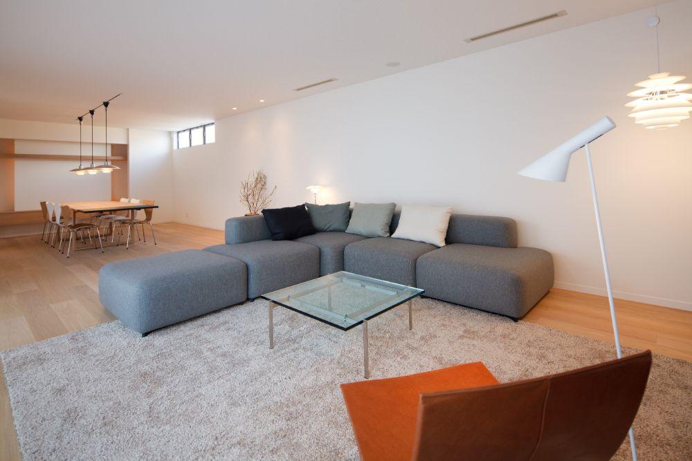 北欧家具が置かれたLD空間