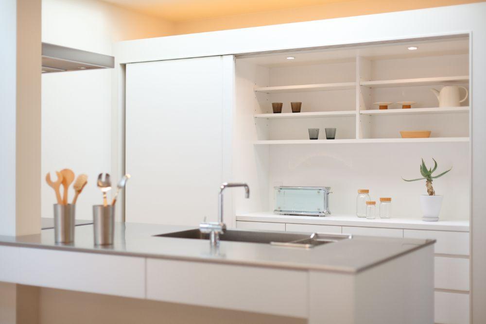 すっきりとしたキッチン