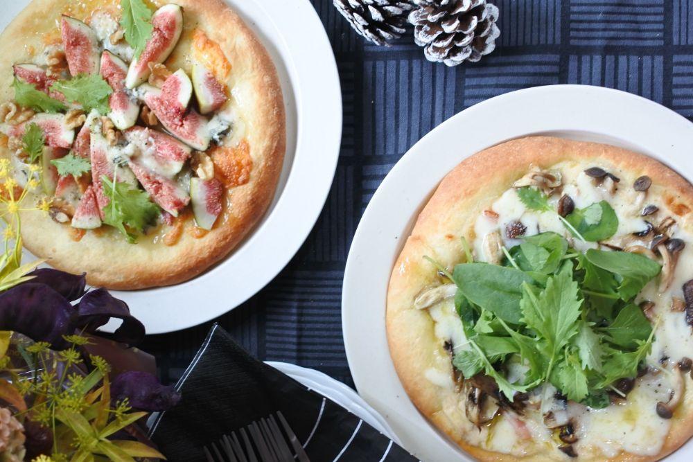 2種類のピザ
