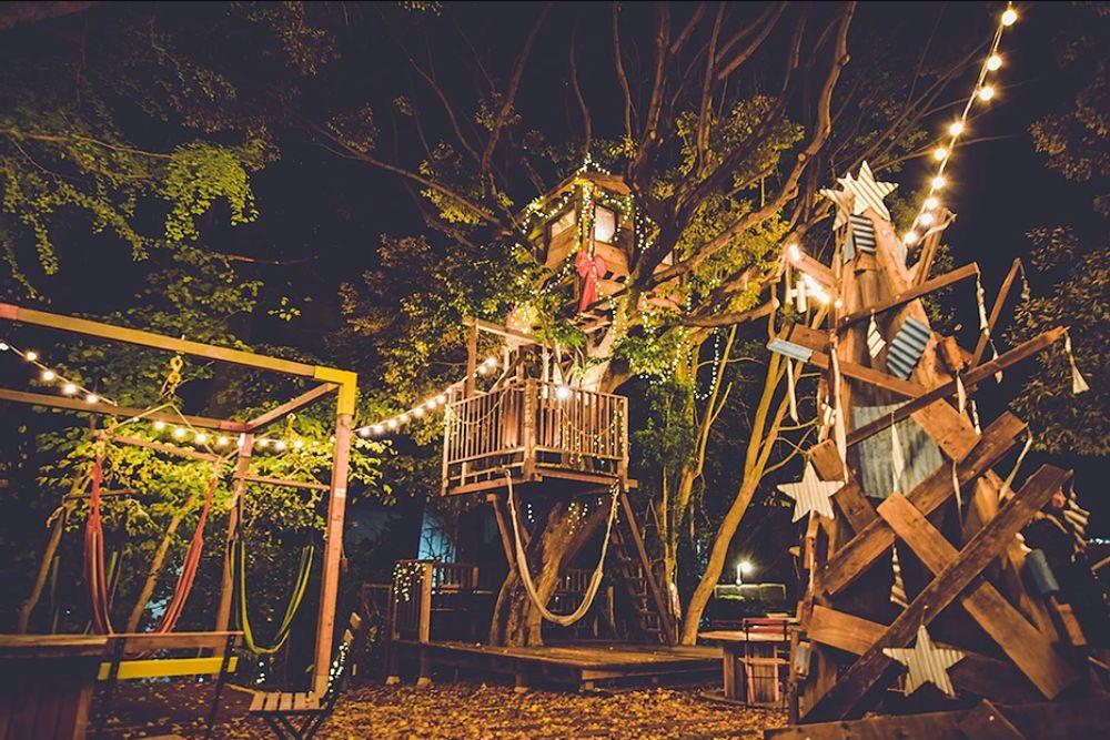 椿森コムナのツリーハウス