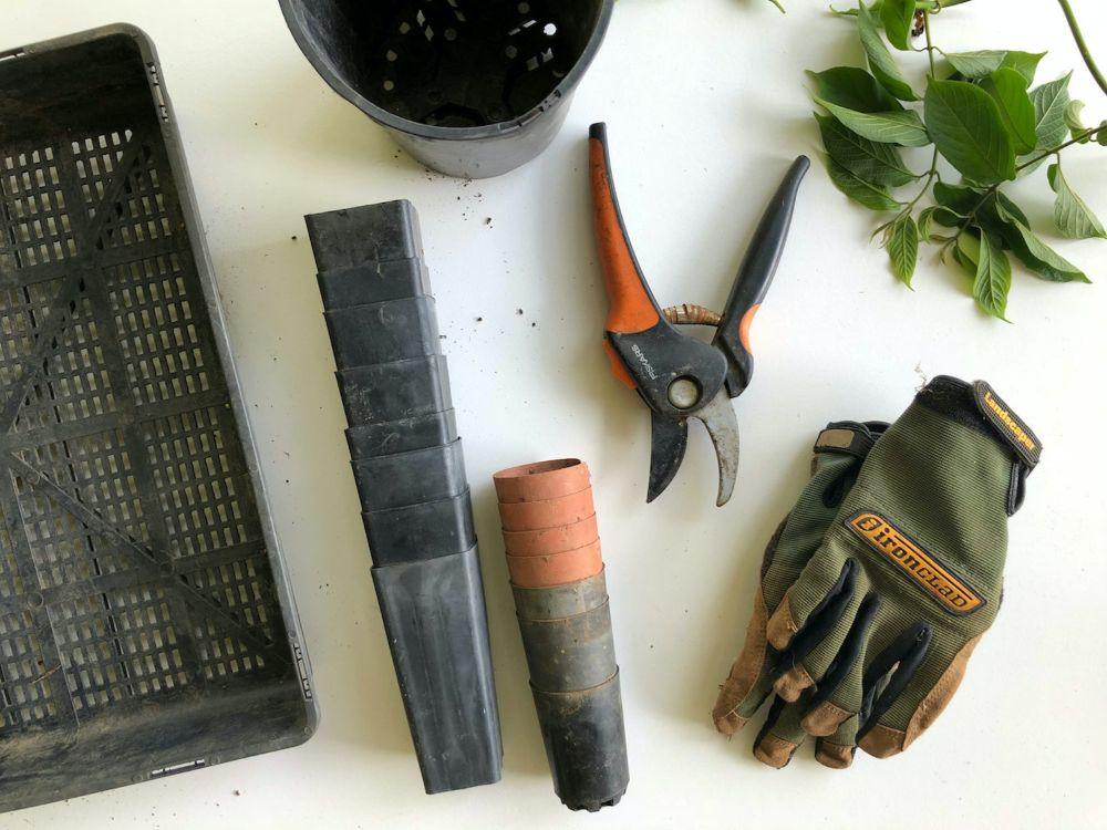 ガーデニングに使う道具