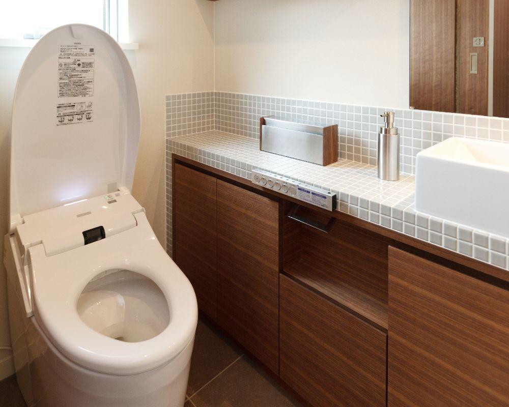 奇麗なトイレ