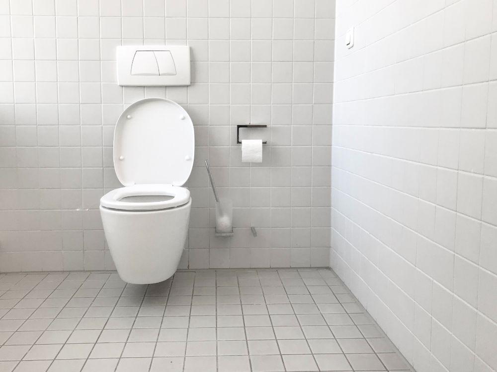白いトイレ空間