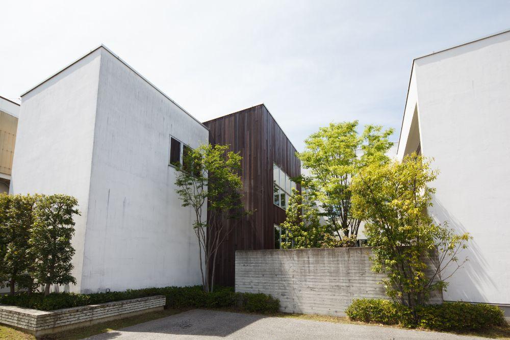 コの字型の住宅