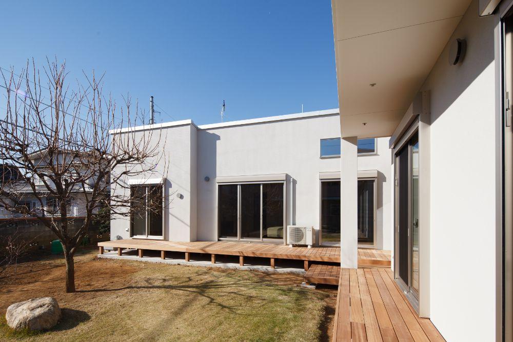 L字型の住宅