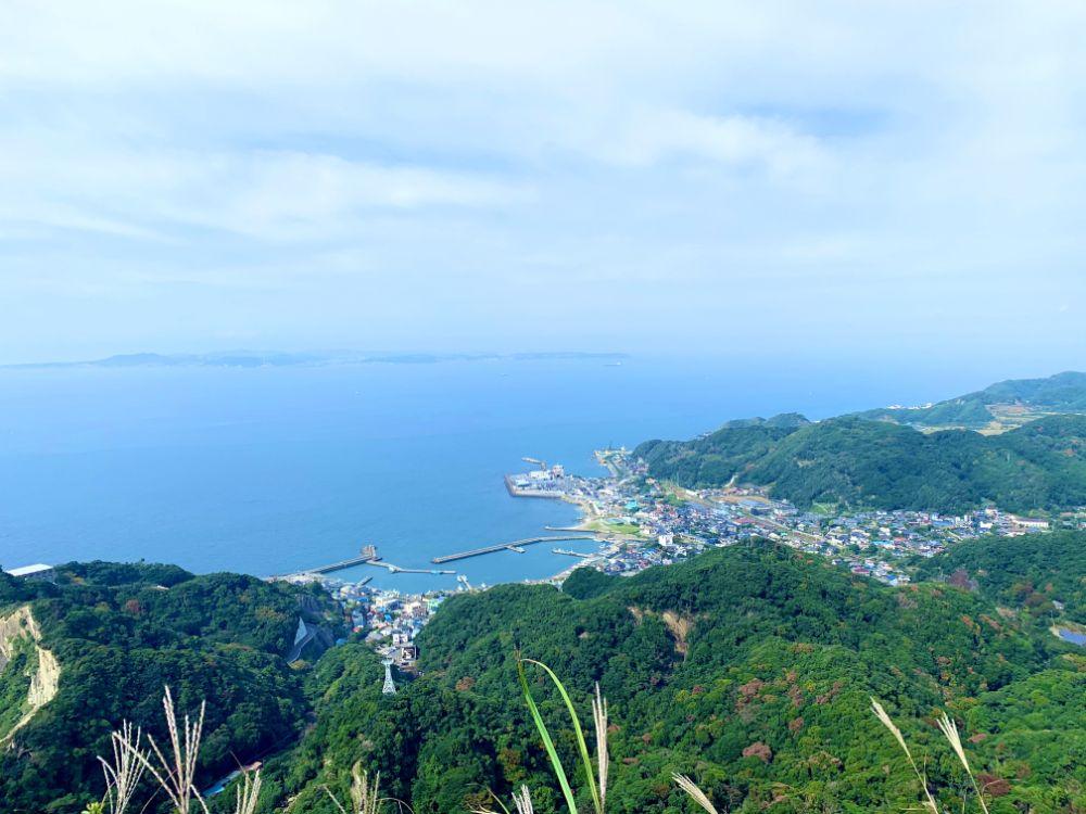 鋸山から見た景色
