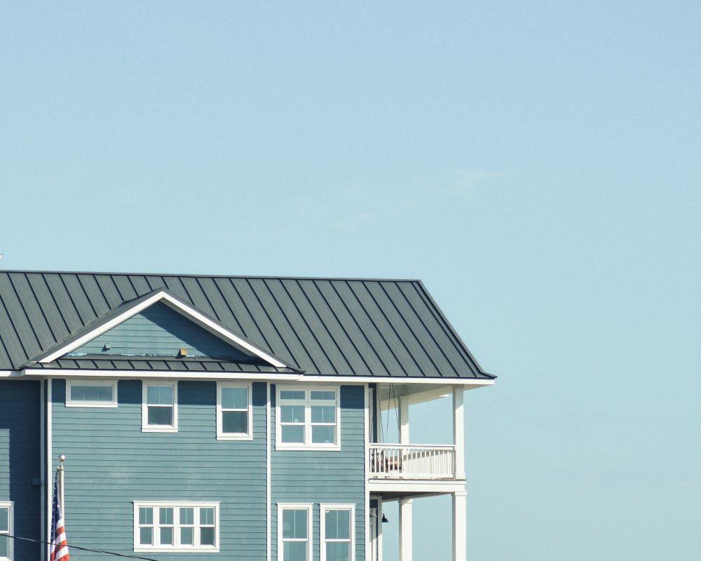 海外風な外観の家