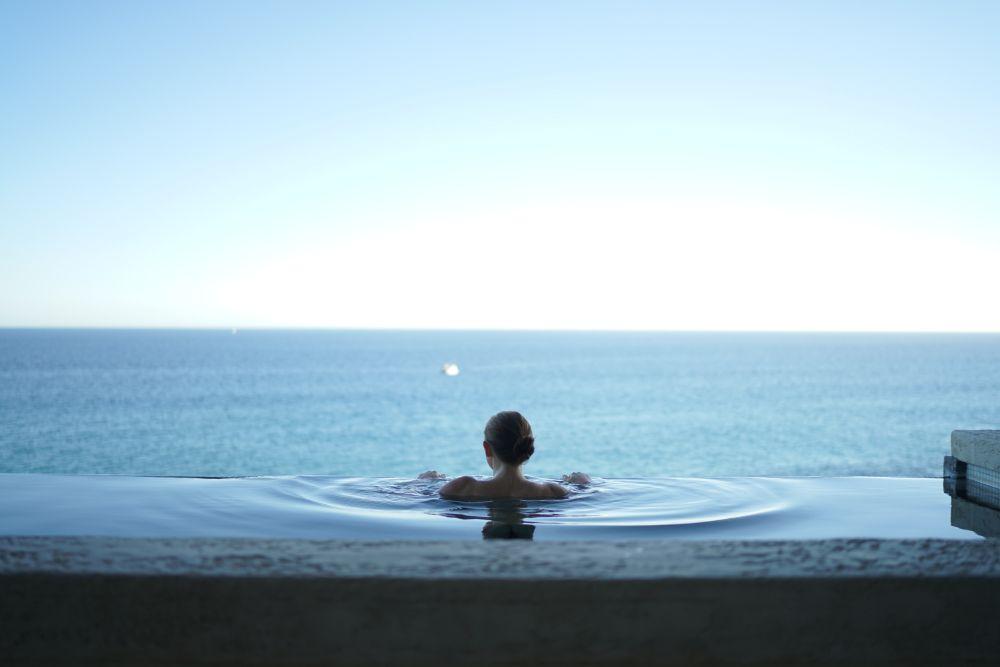 海が見える露天風呂