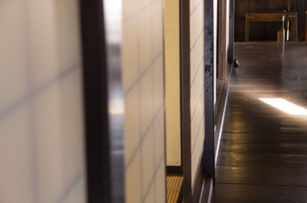 和風住宅の廊下