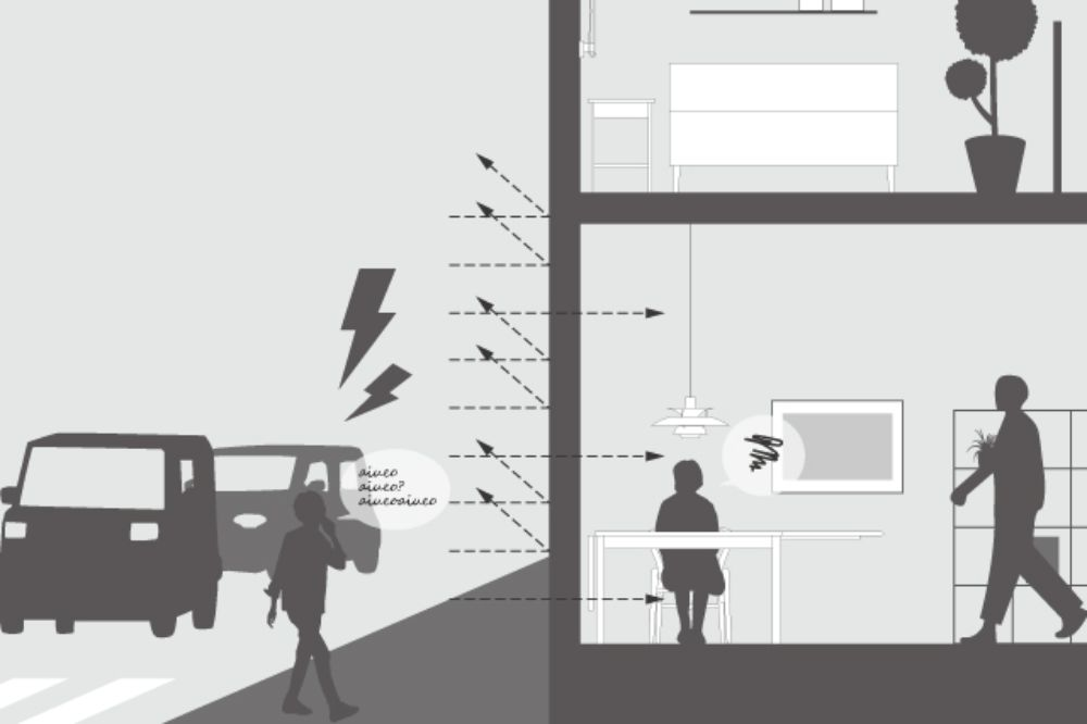 騒音のイメージ図