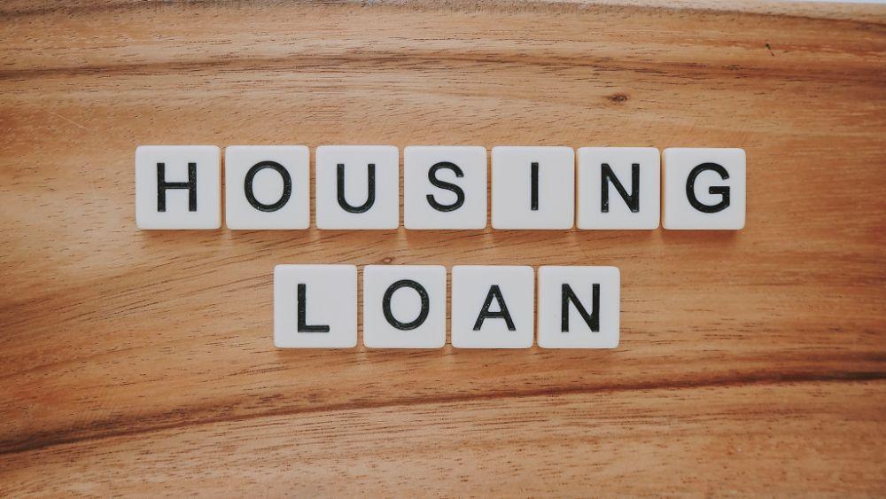 HOUSING LOANの文字